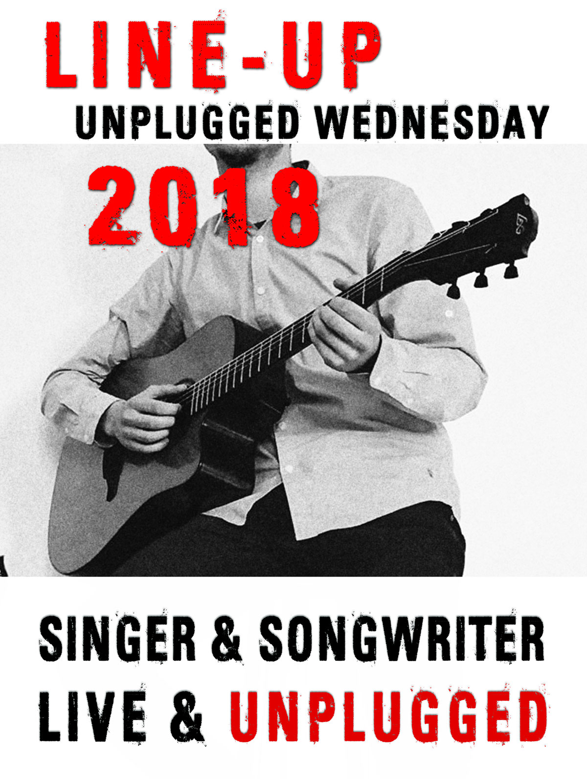 Line Up Unplugged Wednesday: diese Bands spielen bei Live am Marktplatz am Mittwochabend 2018 in Krumbach unplugged ohne große Bühne
